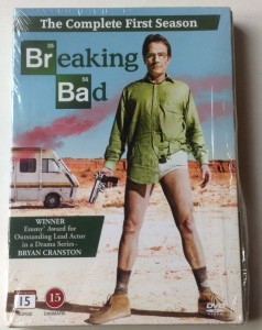 DVD Breaking Bad  hele 1. Episode dansk tekst