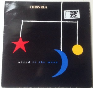 LP Cris Rea Wired to the moon