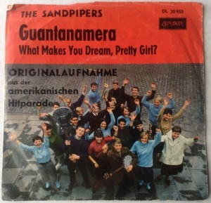 Single plade Guantanamera The Sandpipers