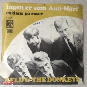 Single Plade Keld & Donkeys Ingen er som Ann-Mari