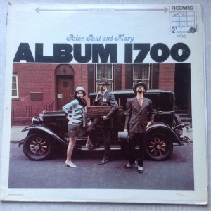 LP Peter, Paul and Mary Album 1700
