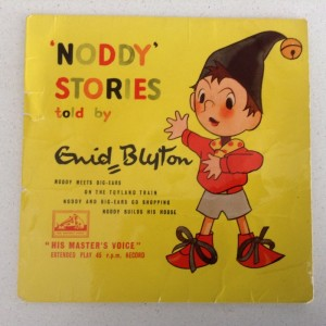 Børne singleplade Noddy Stories told by Enid Blyton