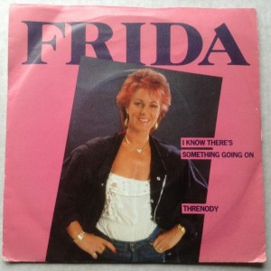 Single Frida I know there's something going on