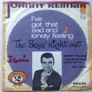 Single Johnny Reimar, I've got that sad and lonly feeling