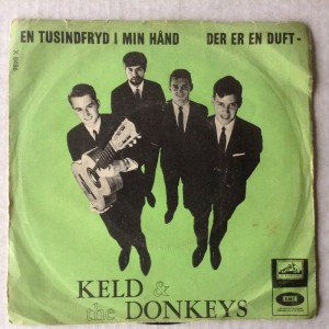 Single Keld & the Donkeys En Tusindfryd i min hånd