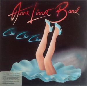 LP Anne Linnet Band Cha Cha Cha