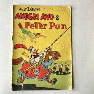 Walt Disney Anders And & Peter Pan Solohæfte nr 7