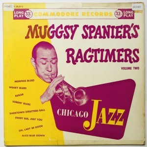 Muggsy Spaniers Ragtimers Chicago Jazz