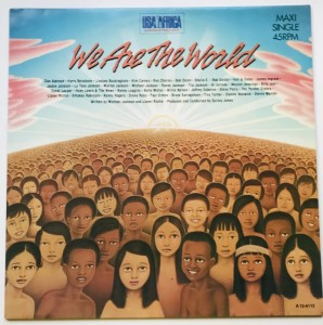 LP We are the World USA Africa
