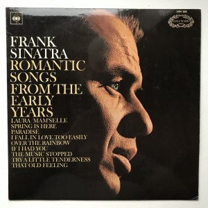 LP Frank Sinatra Romantic Songs from the early Years